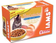IAMS Cat Adult Multipack kapsičky 12x100 g