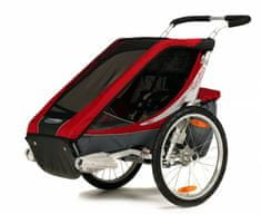 Chariot CTS Cougar 1 + Bike