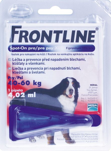 Merial Frontline spot on Dog XL 1 x 4,02ml