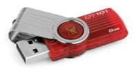 Kingston 8GB DataTraveler 101 Generace 2, Red