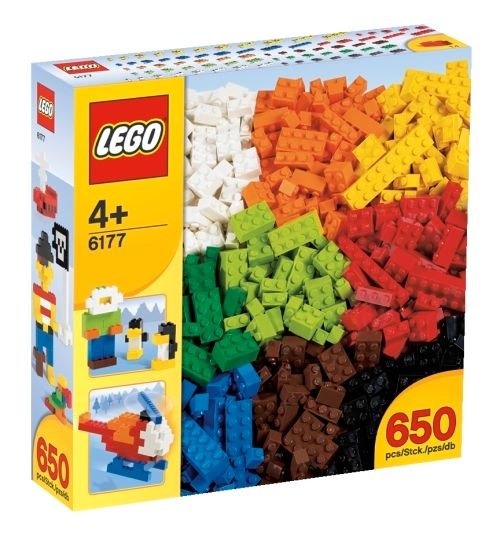 LEGO Creator 6177 Deluxe alapelemek