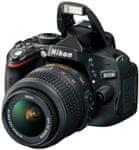 Nikon digitalni fotoaparat D5100 + 18-55 AF-S DX VR