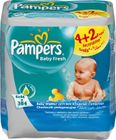 Pampers Ubrousky Baby Fresh 6pack 6x64ks