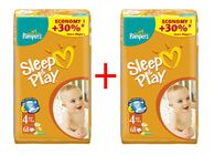 Pampers Sleep&Play 4 Jumbo Maxi - 2 x 68 szt