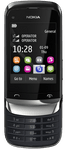 Nokia C2-06 Touch and Type Graphite
