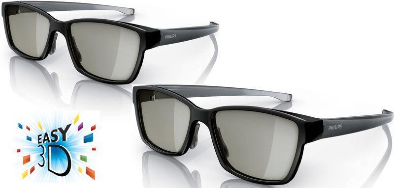 Philips PTA436 (2x pasívne 3D okuliare) c830e7f25ee