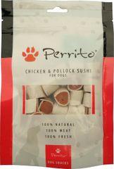 PERRITO Chicken and Pollock Sushi 10 x 100 g
