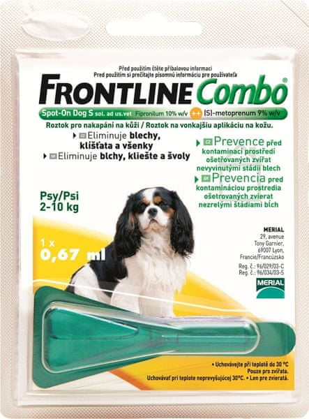Merial Frontline Combo spot on Dog S 1 x 0,67ml