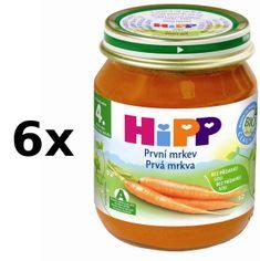 HiPP BIO Karotka - 6 x 125g