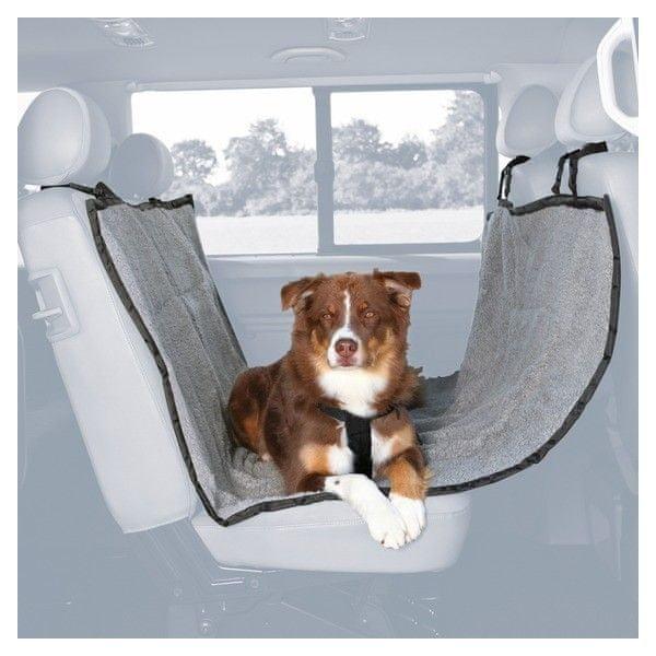 Trixie autopotah za zadní sedadla fleece/polyester
