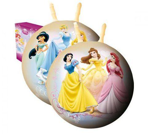 Alltoys Skákacia lopta DISNEY Princezny 50 cm