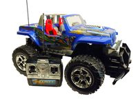 Force RC Car Jeep modrý
