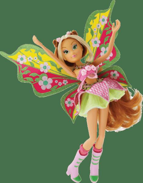 Panenky winx believix fairy z oblíbeného animovaného seriálu winx