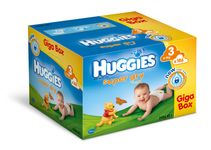 Huggies Super Dry 3 Giga box - 186ks