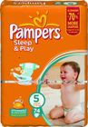 Pampers Sleep&Play 5 Junior - 74ks