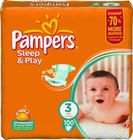 Pampers Sleep&Play 3 Midi - 100ks