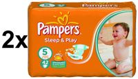Pampers Sleep&Play Economy 5 Junior - 2 x 42 szt