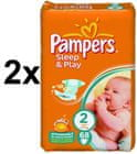 Pampers Sleep&Play Economy 2 Mini - 2 x 68 szt