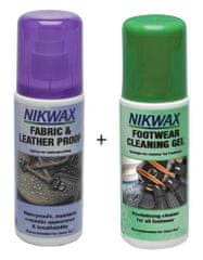 Nikwax Fabric & Leather Spray-on 125ml + dárek