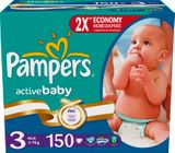 Pampers Active Baby 3 Midi - 150 szt.