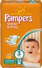 Pampers Pampers pieluchy Sleep&Play 3 Midi - 58 szt.
