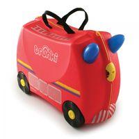 Trunki Kufrík + odrážadlo hasičské auto Freddie