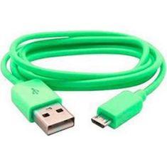 Muvit microUSB datový kabel, zelený