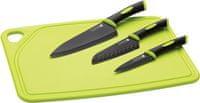 SCANPAN Set 4ks, plastová doštička, 3x nôž