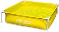 Intex Detský rámový bazén, žltý