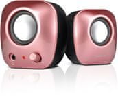 SPEED-LINK SNAPPY Stereo Speakers, pink