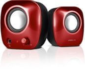 SPEED-LINK SNAPPY Stereo Speakers, red