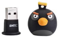 Emtec Angry Birds Black, 8GB