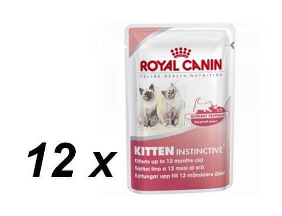 Royal Canin Kitten Instinctive 12x85g
