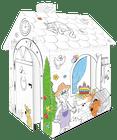 Mochtoys Omalovánkový domček na hranie