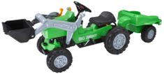 BIG Traktor na pedala  Jimmy Nakladač + prikolica