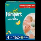 Pampers Active Baby 4 Maxi - 162 szt