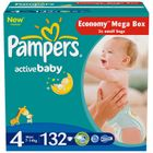 Pampers Active Baby 4 Maxi - 132ks