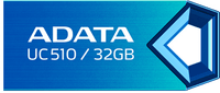 A-Data UC510, 32GB, modrý