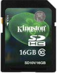Kingston SDHC 16GB (Class 10)