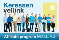 Affiliate program MALL.HU