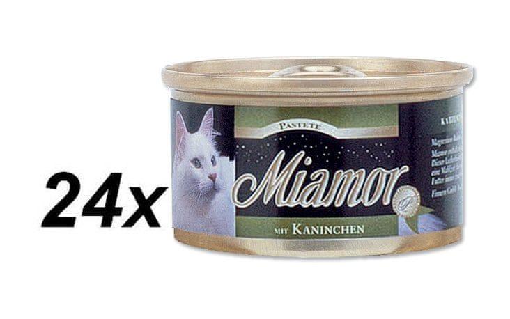 Finnern Paštika Miamor králík 24 x 85 g
