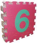 Teddies Pěnové puzzle Čísla 30x30cm 10ks v sáčku
