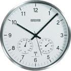 Eurochron Analógové DCF hodiny s teplomerom a vlhkomerom EFWU 6400, 30,5 cm