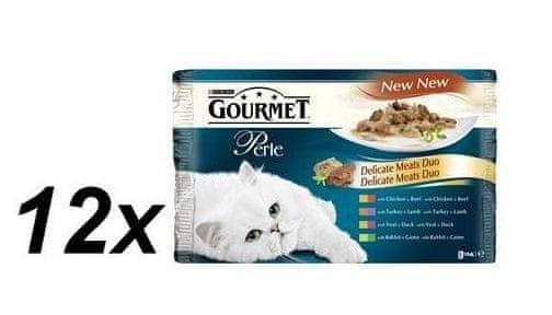 Gourmet Perle masové duo multibalení 12 x ( 4 x 85