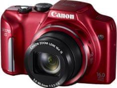 Canon PowerShot SX170 IS červená - II. jakost