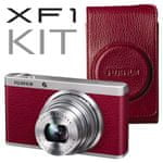 FujiFilm FinePix XF1 + luxusní kožené pouzdro ZDARMA!