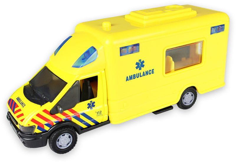 GearBox Ambulance 1:48, žlutá