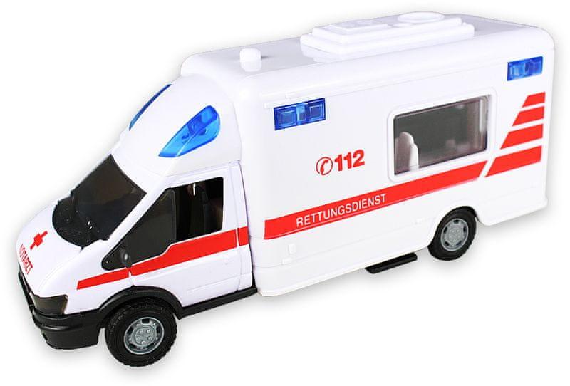 GearBox Ambulance 1:48, bílá