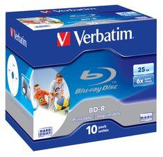 Verbatim BD-R medij 25GB 6x JC printable (43713), 10 kosov