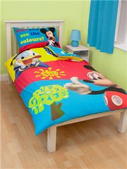 Disney Otroška posteljnina Mickey Mouse, Puzzled Single